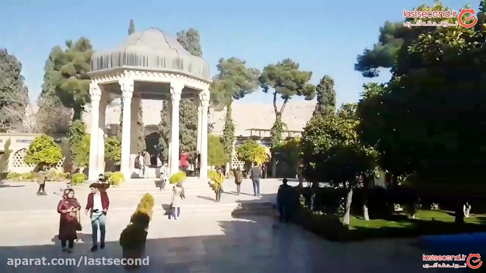 سفری یک دقیقه ایی به جاذبه های شیراز