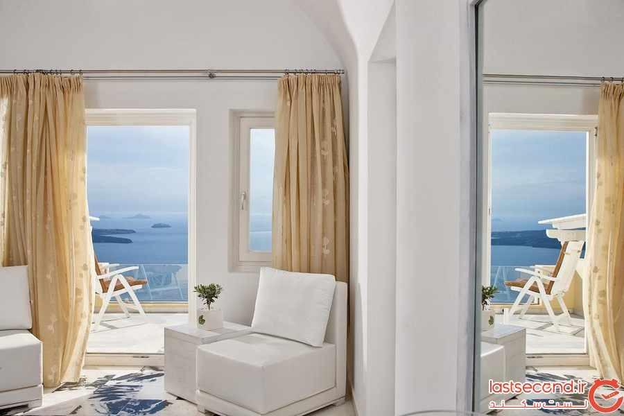 هتل پرنسس ، آرامش بی نظیر در قلب سنتورینی 