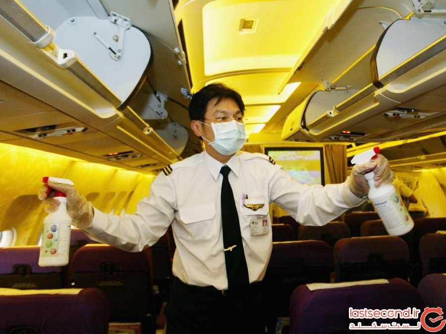 خلبان ها در نقش مسافر چه چیزهایی را متوجه می شوند ؟ 