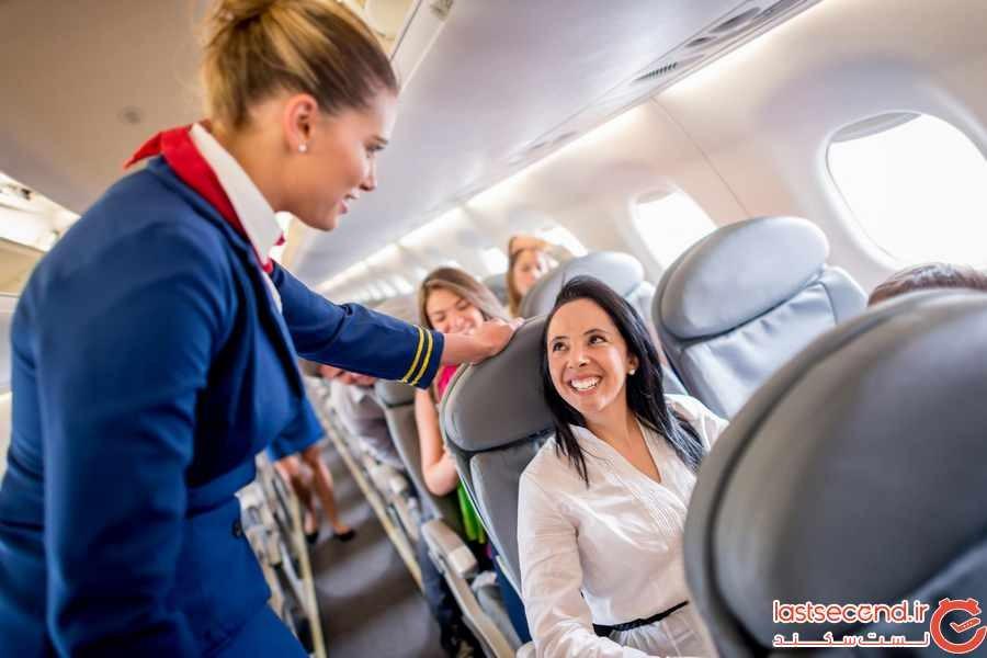 10 قانون ناگفته در مسافرتهای هوایی