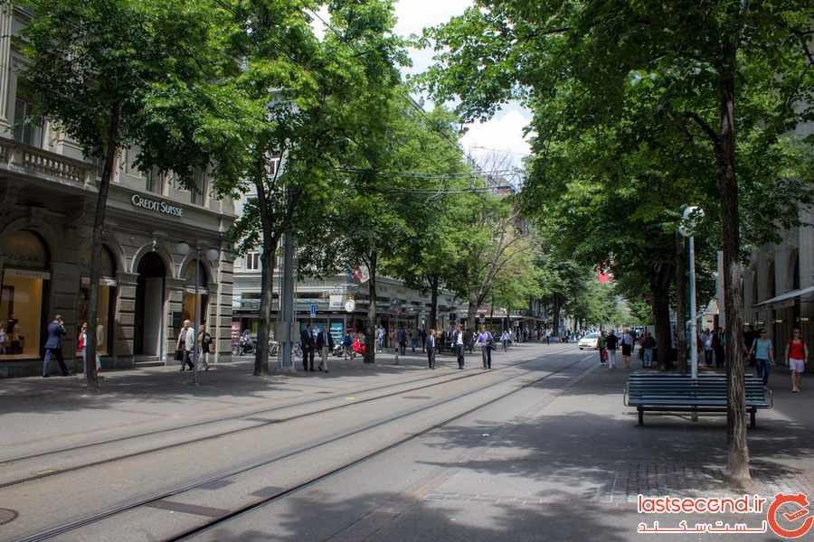 خیابان بانهوف زوریخ ، گرانترین خیابان خرید جهان