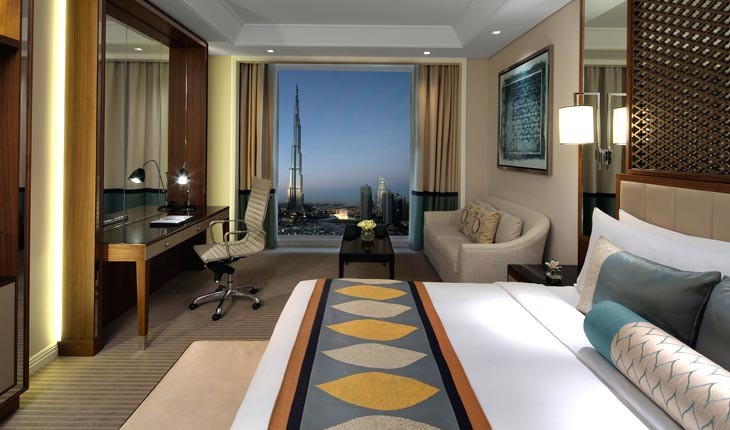 تاج دبی ، هتلی بی نظیر در دبی 