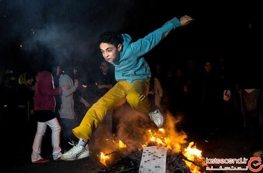 چهارشنبه سوری جشن هزارساله ایرانیان