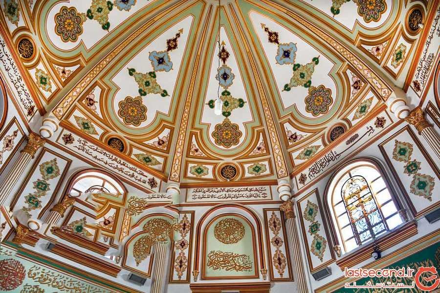 مسجد شافعی کرمانشاه درخشش معماری ایران