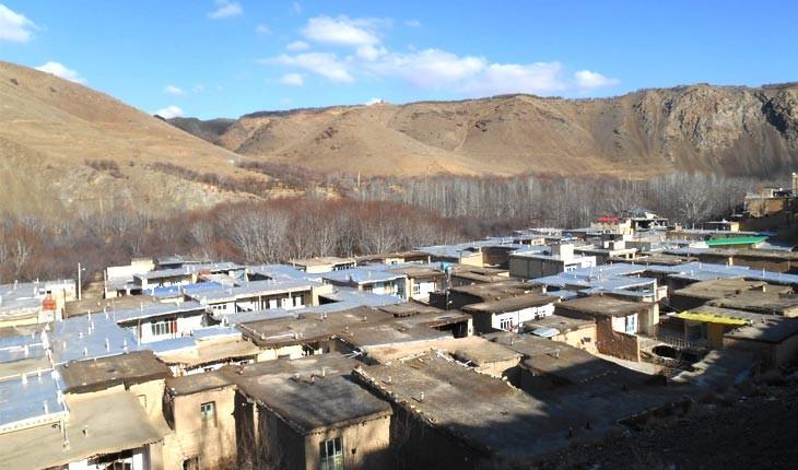 یاسه چای روستای سرپوشیده چهارمحال و بختیاری