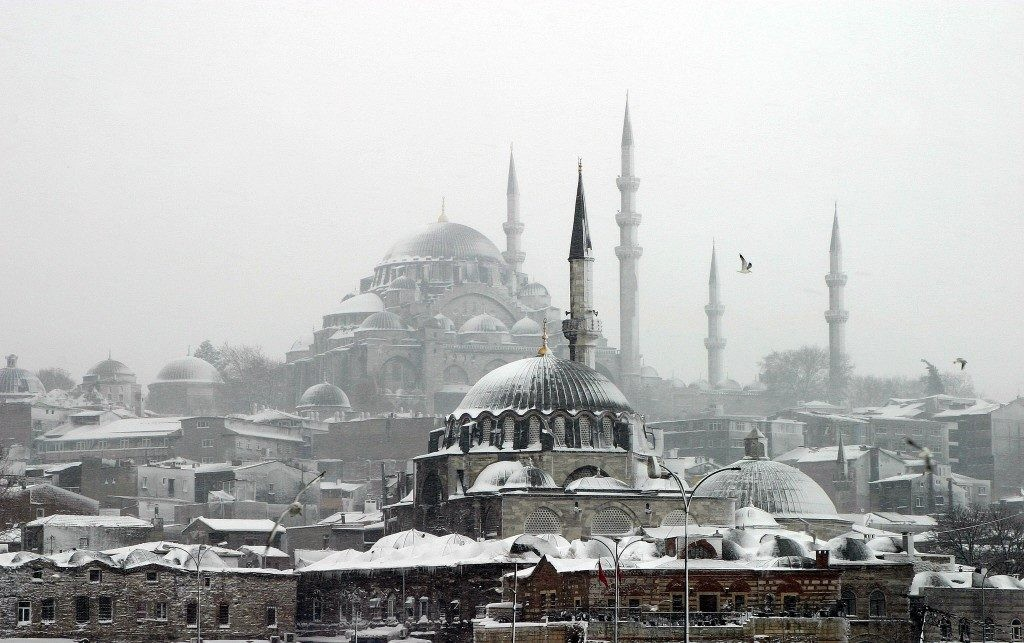 زمستانه ی استانبول زیبا