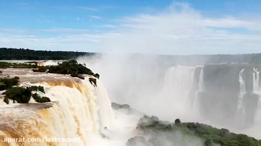 تجربه بهشت در آبشار ایگواسو