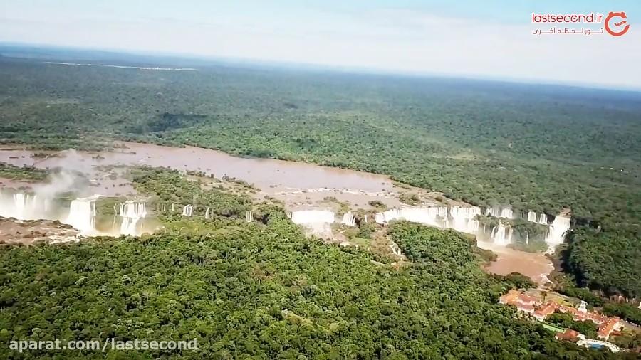 پرواز بر روی برجسته ترین جاذبه توریستی برزیل