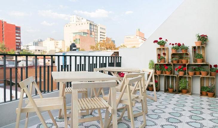 هتل لاپالومیلا ، هتلی رنگارنگ در شهر مکزیک 