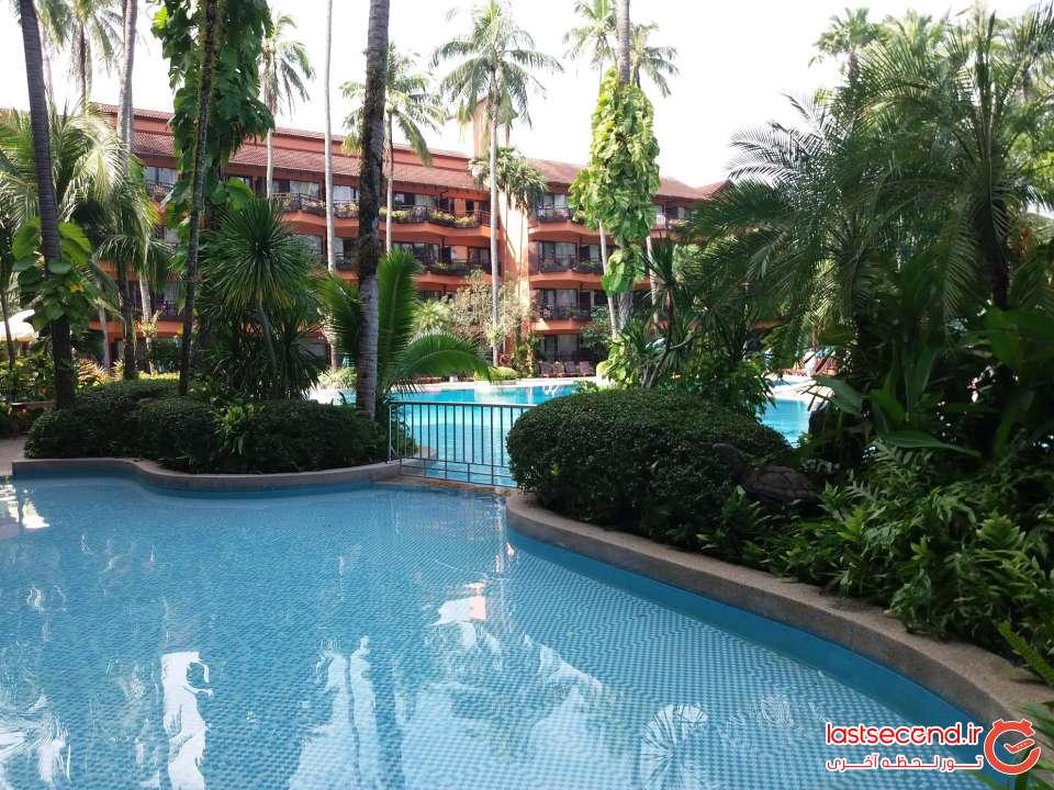 هتل 4 ستاره پاتونگ مرلین
