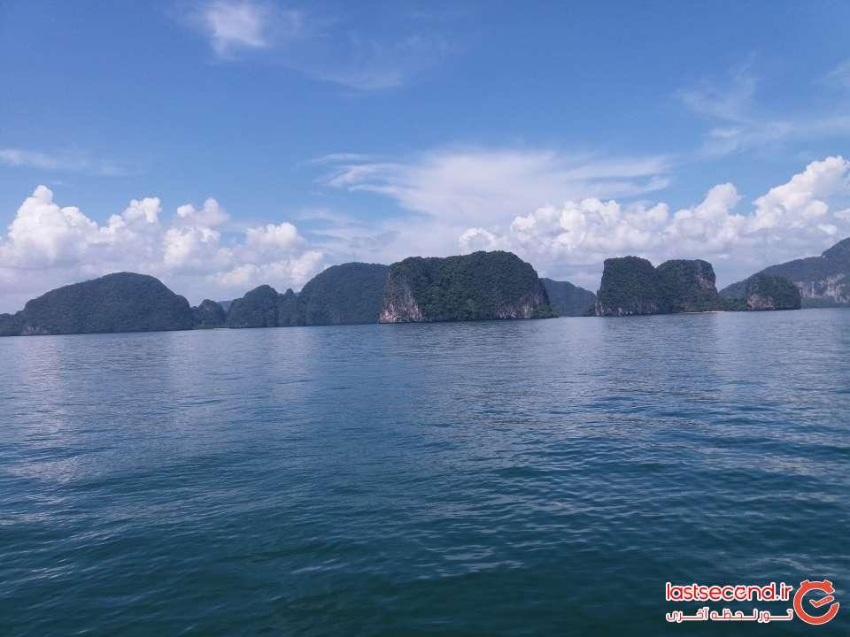 جزیره های سبز در آبی بی کران دریا