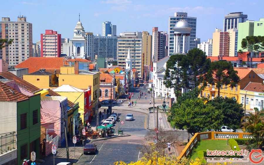 کوریتیبا ، شهری سبز و پایدار در برزیل 