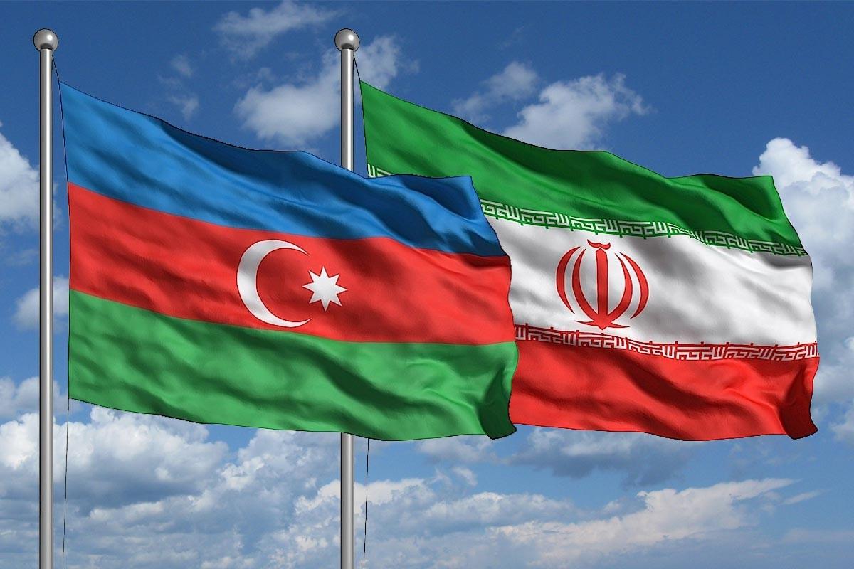 تصویر پرچم ایران و باکو