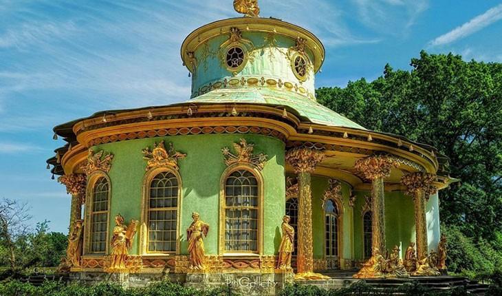 کاخ ورسای در آلمان : کاخ های جذاب و خارق العاده پارک سانسوسی 