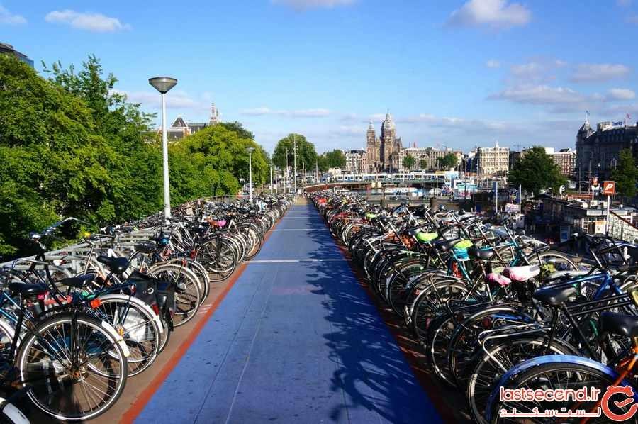چرا آمستردام پایتخت دوچرخه سواری دنیاست؟