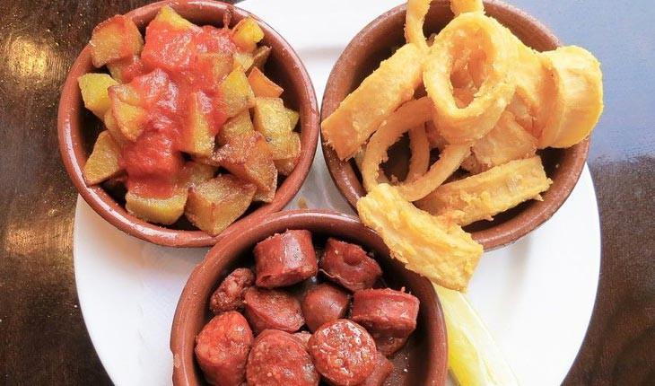 طعم ها و غذاهای  کلاسیک اسپانیایی