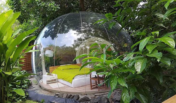 هتلی که شما را به طبیعت متصل می کند