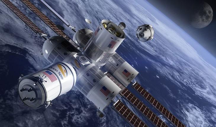 اولین هتل لوکس در فضا !