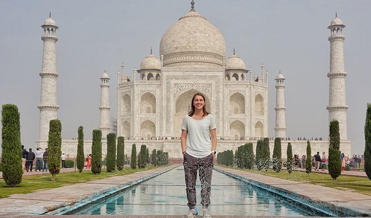 گردشگر 23 ساله رکورد سفرهای جهانی را می شکند