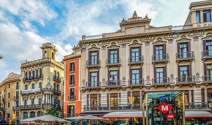 زیباترین خیابان ها در بارسلون