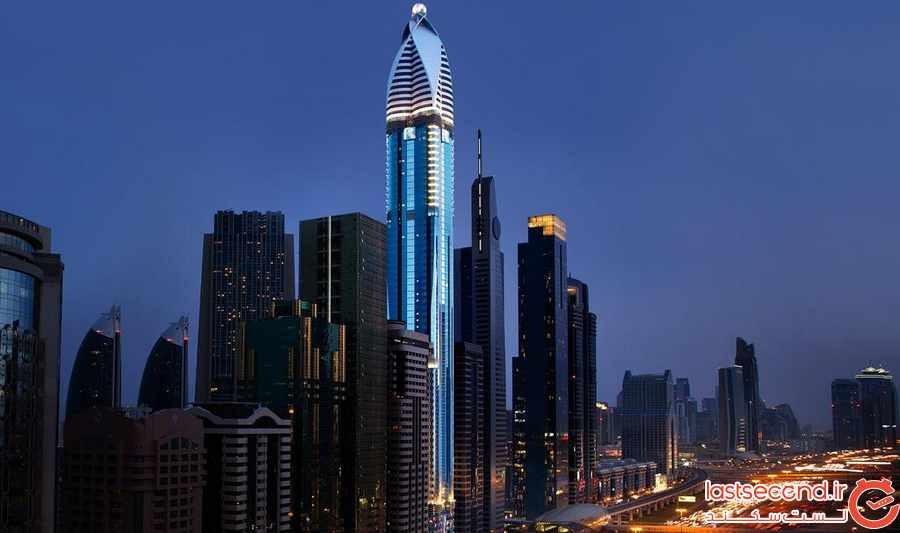 بلندترین هتل های جهان
