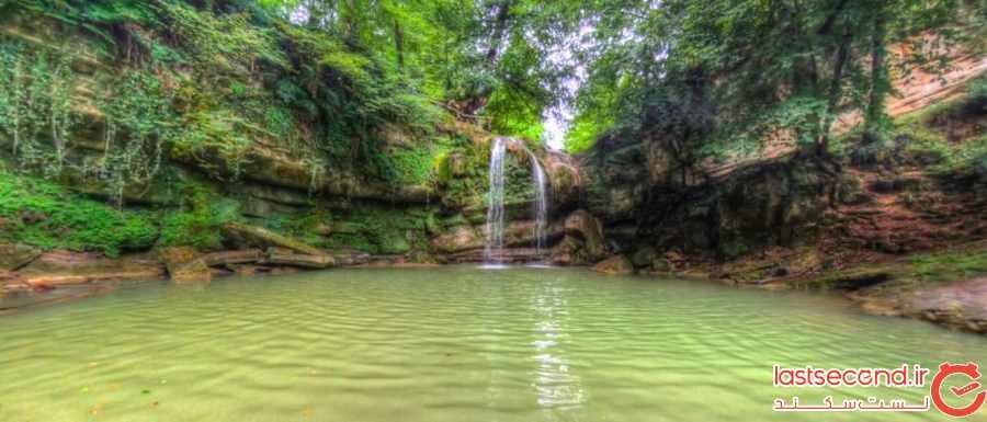 هفت آبشار، موهبت جنگل سوادکوه