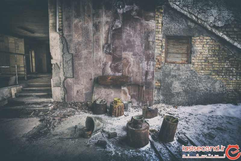 چرنوبیل ، شهری که به شهر ارواح تبدیل شد 