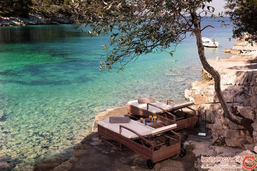 هتل لیتل گرین بی (Little Green Bay ) ، اقامتگاهی آرام در کنار آبها در کرواسی 
