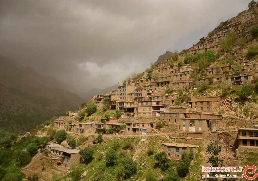 روستای هورامان به قدمت 40 هزار سال در کردستان