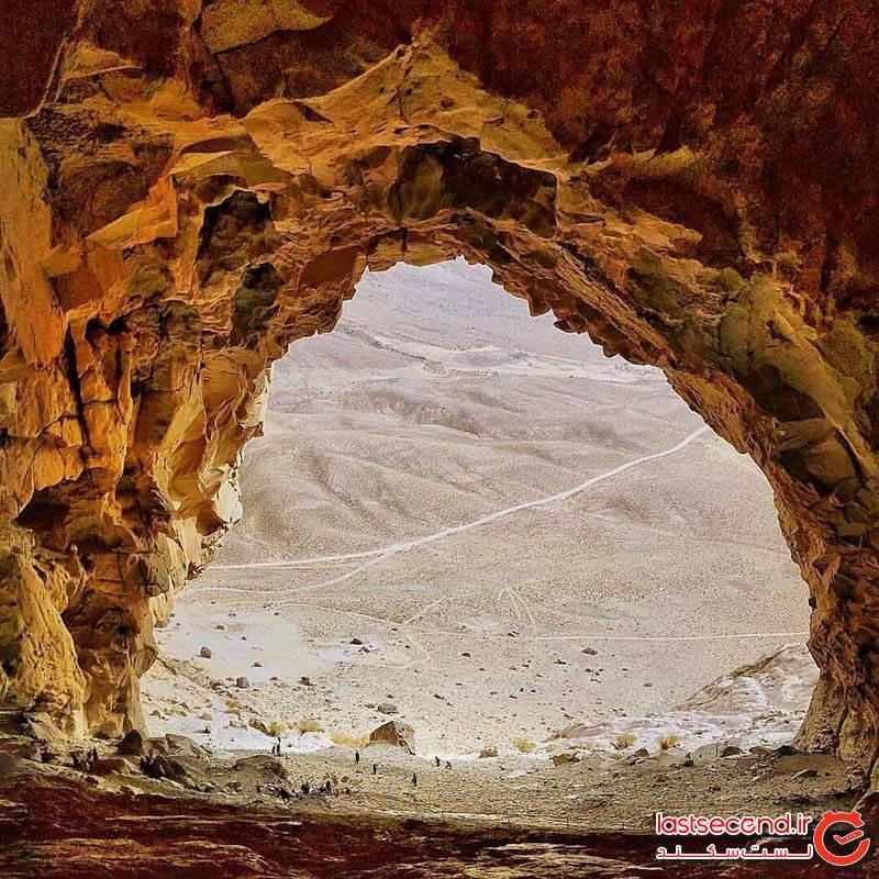 غار ایوب بزرگترین غار آذرین کرمان