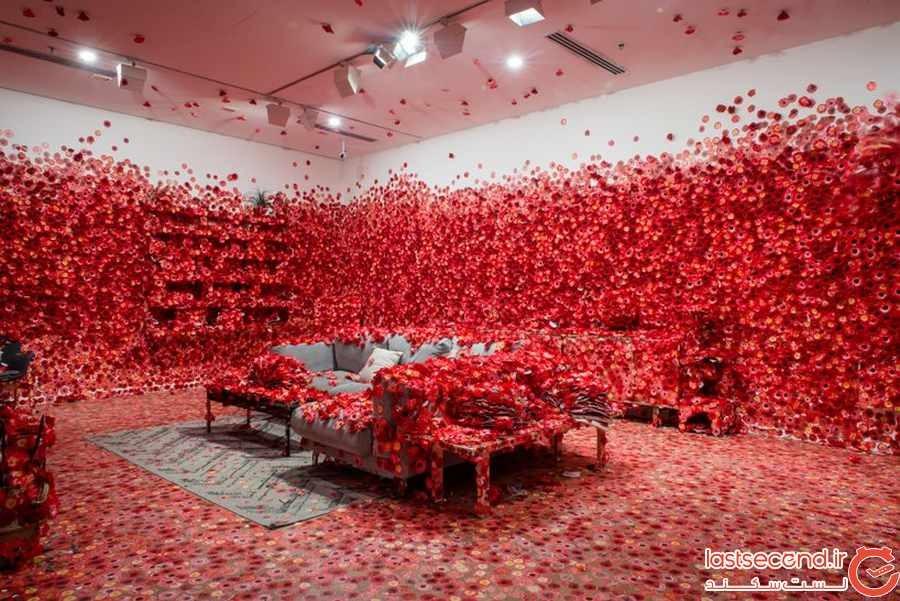 رویای گل های سرخ که به اثر هنری تبدیل شدند