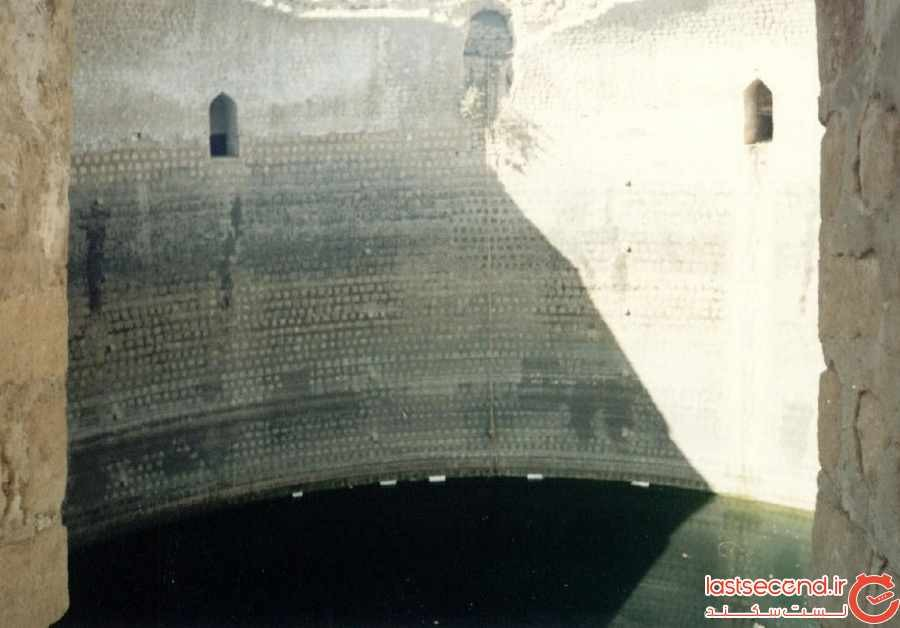 گنج البحر، بزرگترین آب انبار ایران در فارس