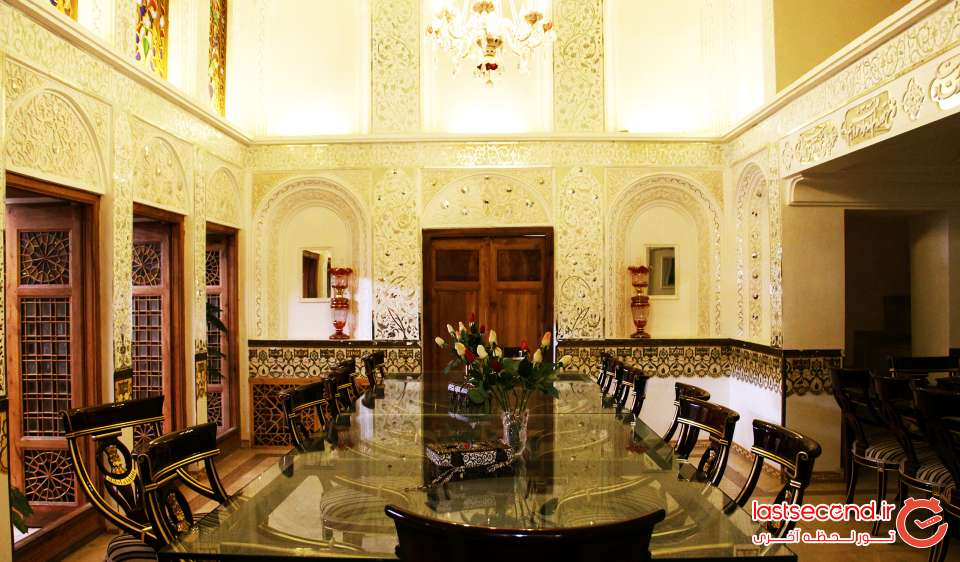 رستوران عمارت خانه پدری یزد
