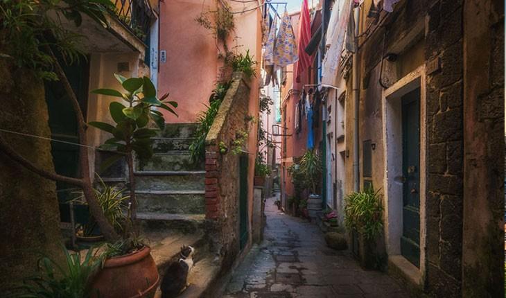 تصاویری از کوچه پس کوچه های زیبای ایتالیا 