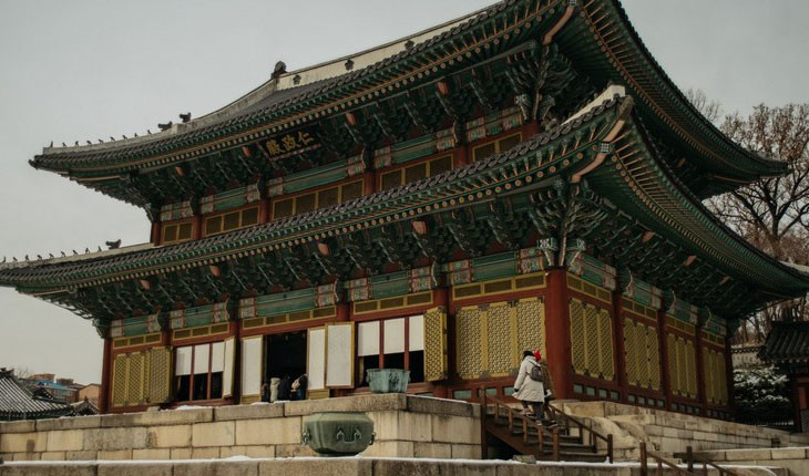 کاخ خیالی در کره جنوبی