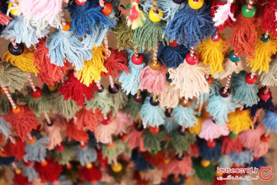 تزئینات سنتی خانه کسرا