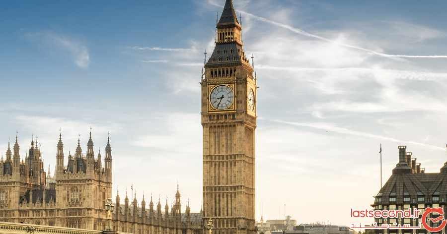 مشهورترین ساعت های جهان 