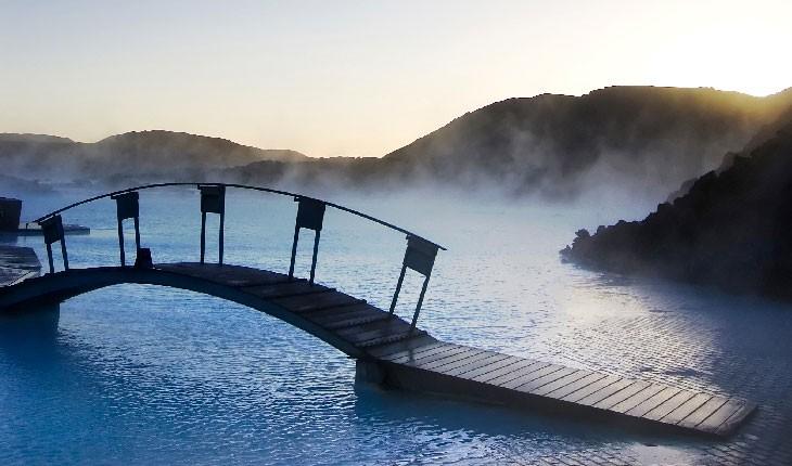 هتل لوکس در چشمه های آب گرم ایسلند