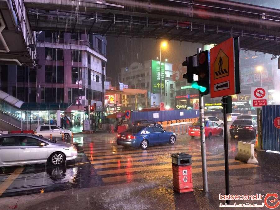 9 کاری که در یک روز بارانی در کوالالامپور باید انجام دهید.