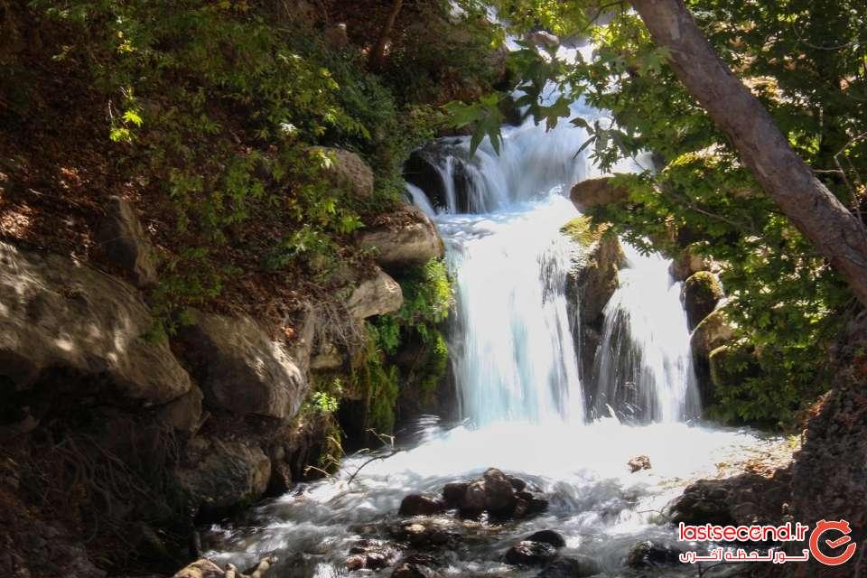 آبشار و روستای شیوند