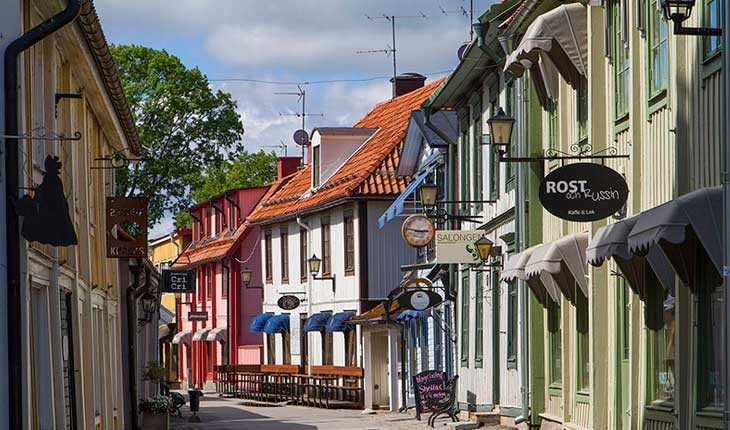 قدیمی ترین شهر سوئد کجاست ؟