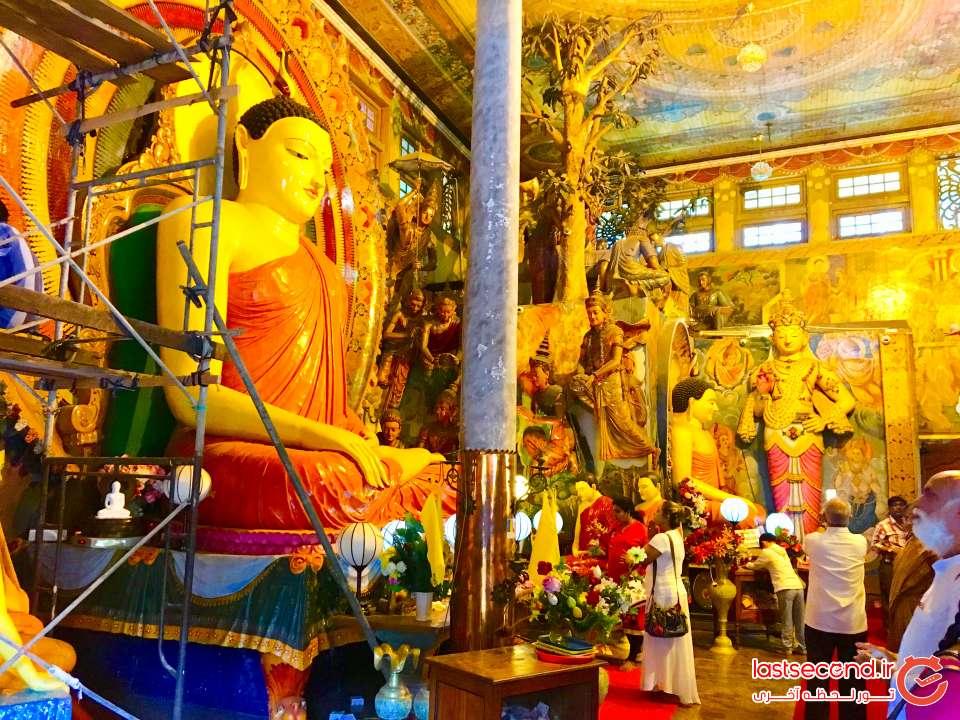 معبد کلمبو در سریلانکا