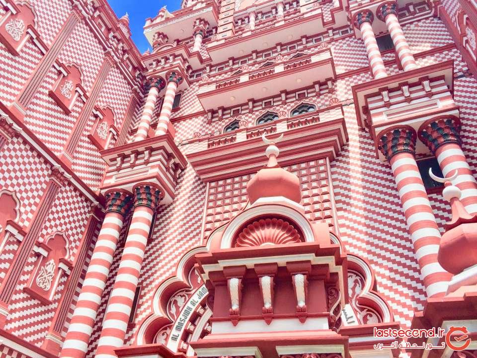 مسجد قرمز در سریلانکا