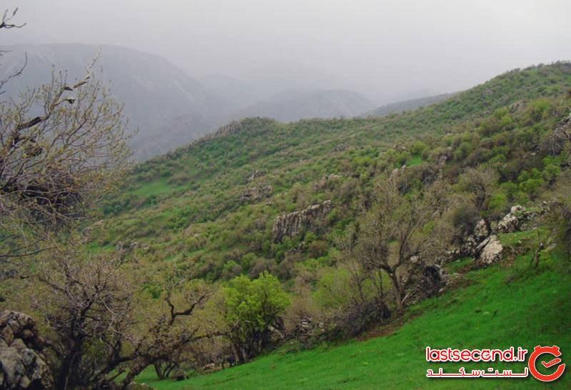 ثلاث باباجانی، روح طبیعت کرمانشاه