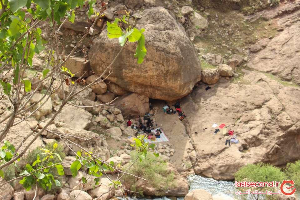 اقامت در کنار آبشار شوی