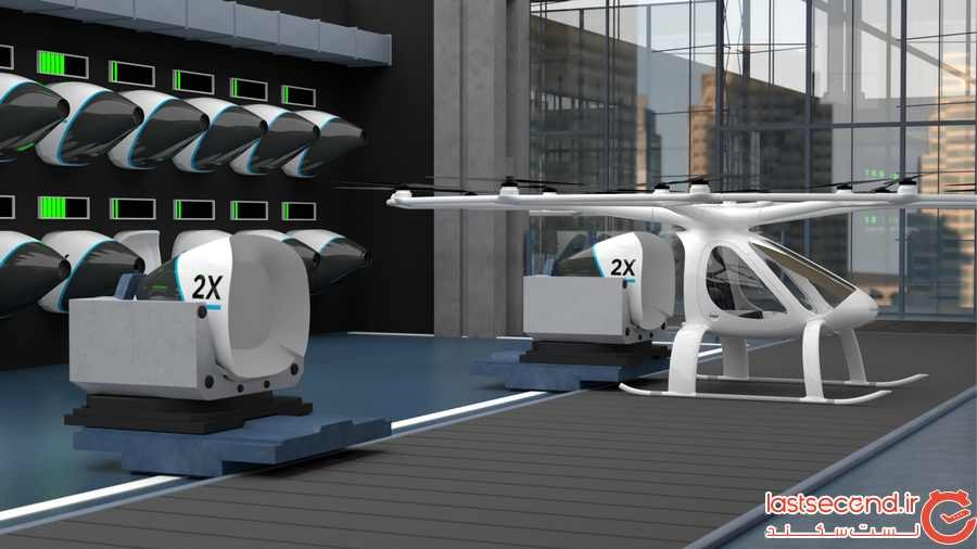بررسی ایده تاکسی های هوایی در جهان