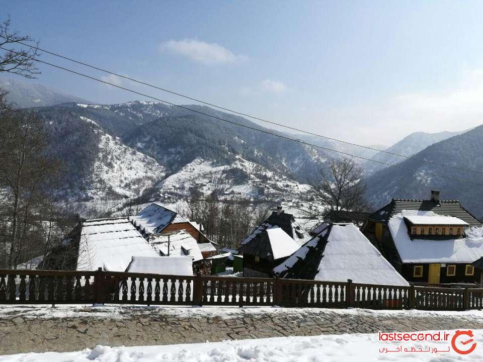 شهر چوبی صربستان