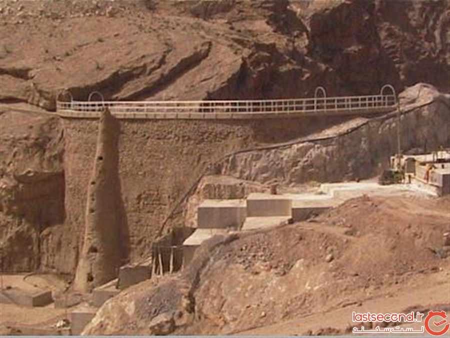 سد شاه عباسی طبس نازک ترین سد جهان
