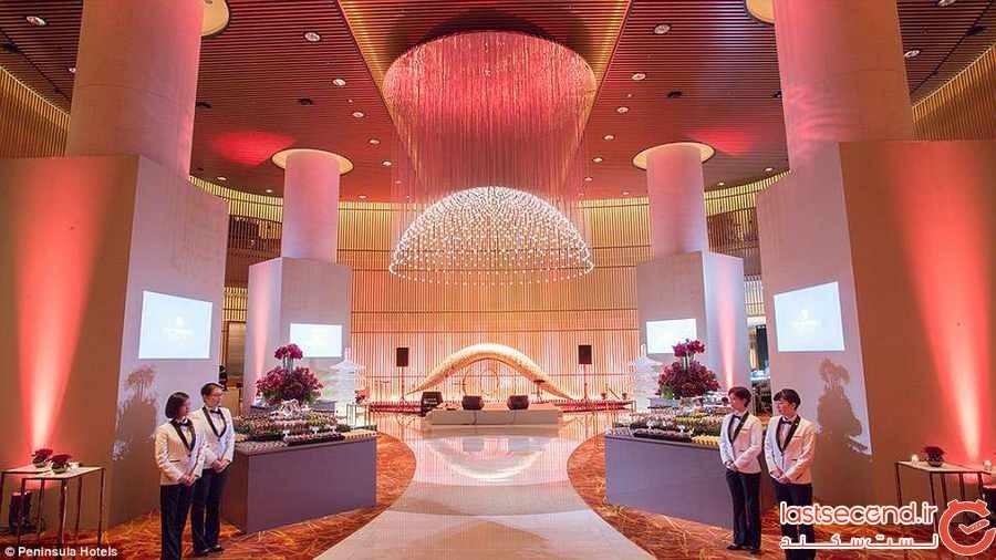باشکوه ترین لابی های هتل ها