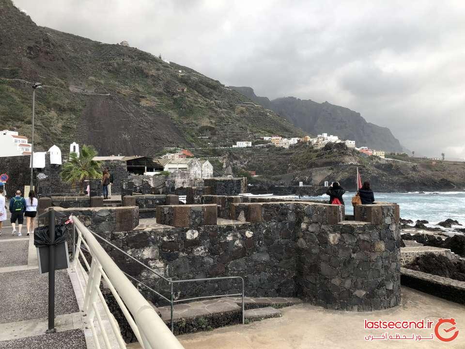 منظره کوه از منطقه Garachico